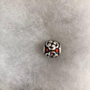 Pandora red bead